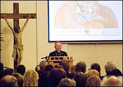 конференцзале архиепархии состоялась международня экуменическая конференция «Христиане перед вызовом, брошенным институту семьи»